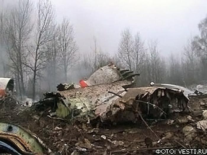 самолет катастрофа смоленск