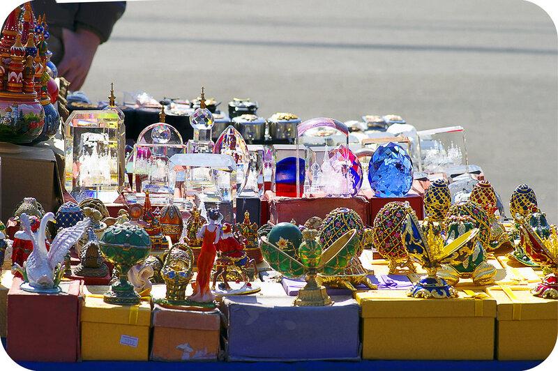 Сувениры на Воробьёвых