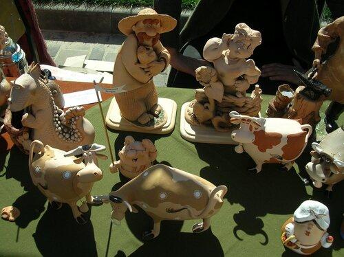 Набережная - Очароваительные коровки (керамика)