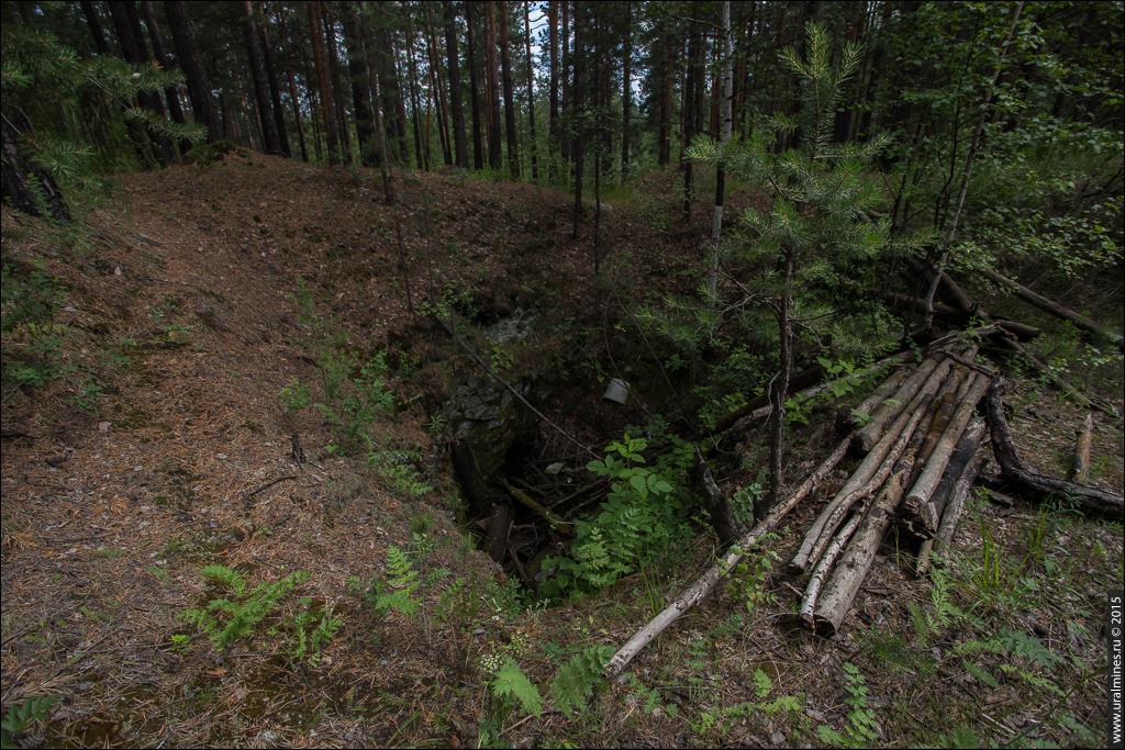 Хромитовые рудники Талицкая, Земская, Комаровская яма