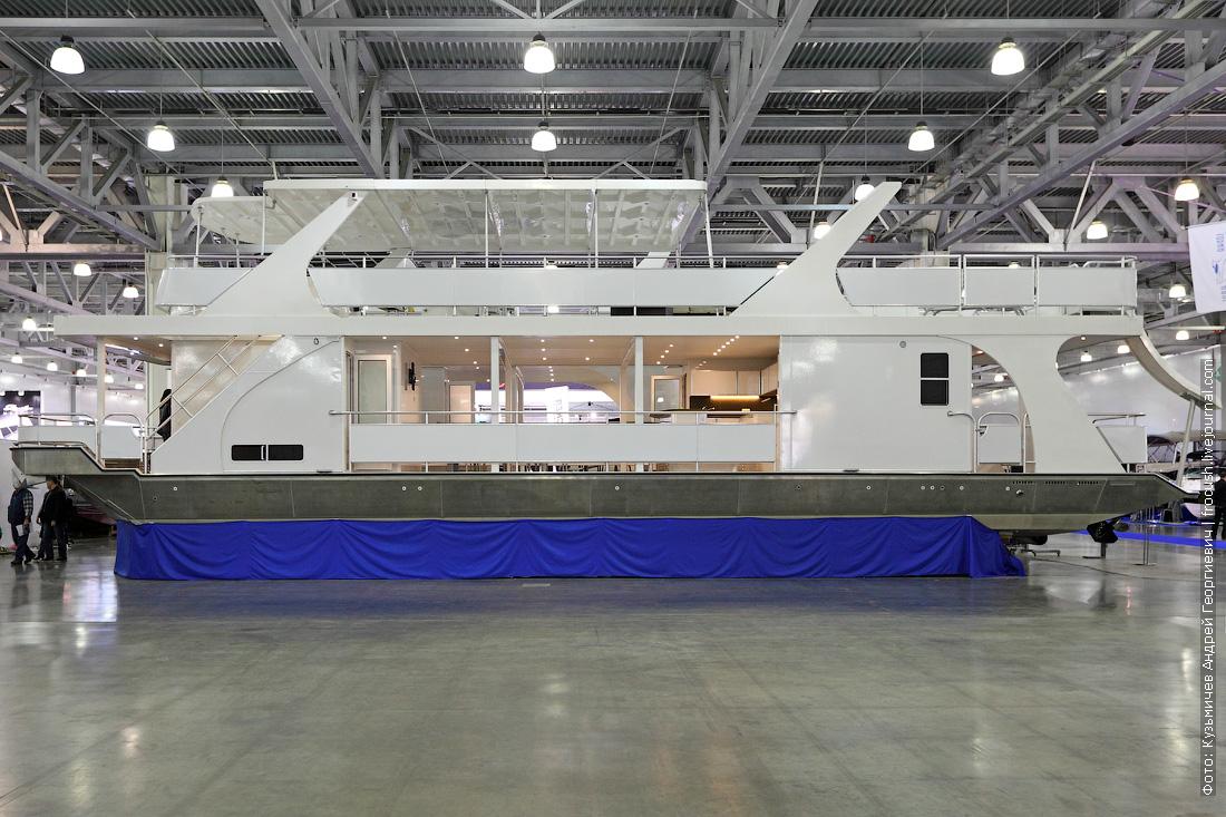 Moscow Boat Show хаусбот