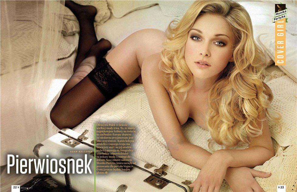 Monika Partyka / Моника Партыка в журнале Playboy Польша, март 2012