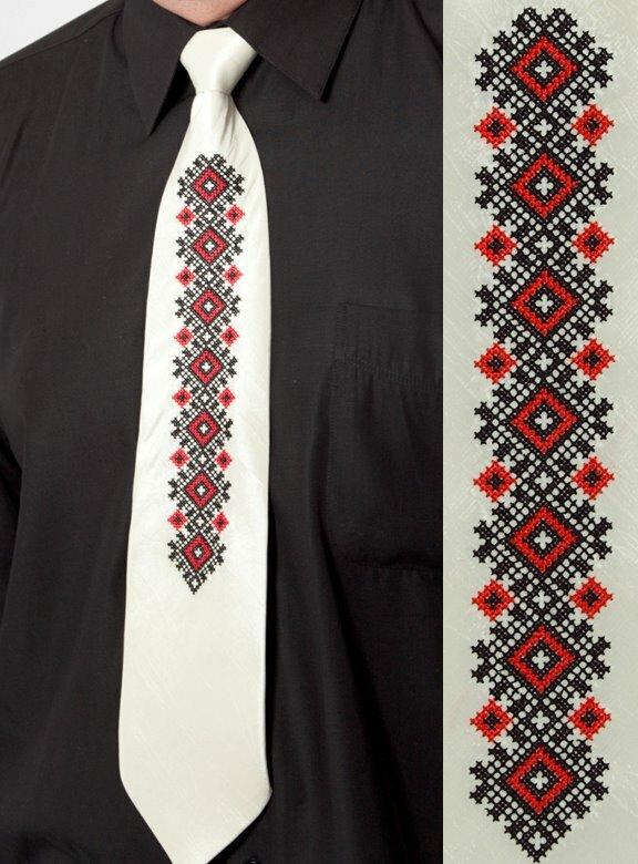 Вышивка для галстуков.