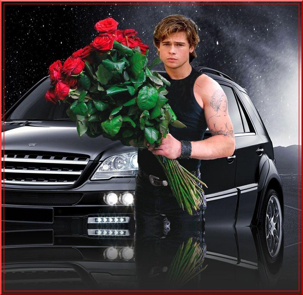 Мимоза марта, открытки с изображением мужчины с цветами