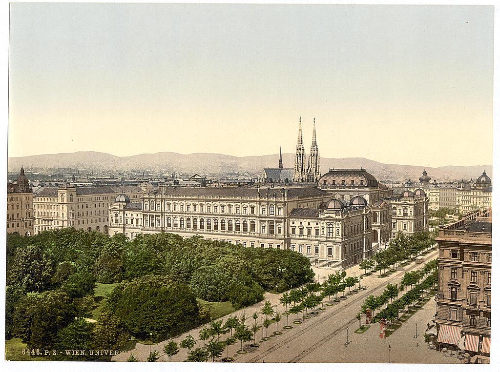 Вена в 1890 - 1900 годах. 0_60385_92310f80_orig