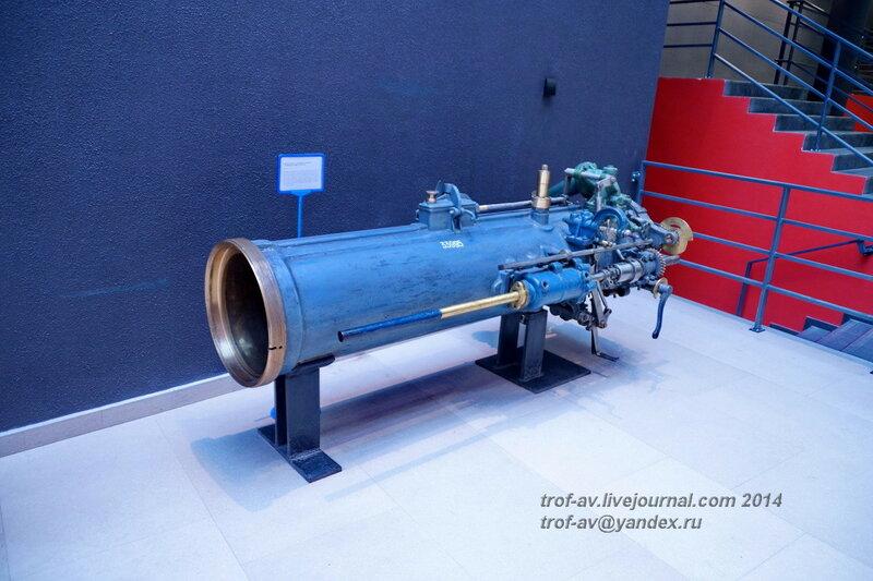 Казенная часть торпедного аппарата с подводной лодки Пантера, Центральный военно-морской музей, Санкт-Петербург