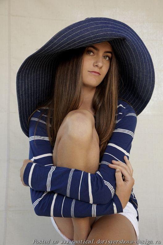 полоски, шляпа