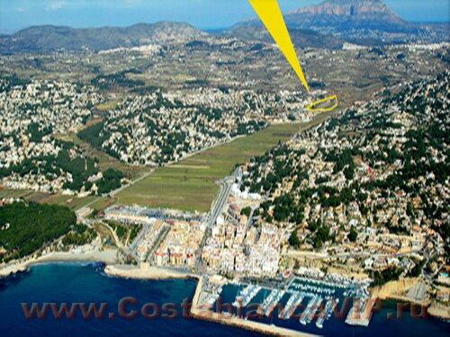 земля в Moraira, земля в Морайре, недвижимость в Испании, земля в Испании, участок под застройку в Испании, участок земли, Коста Бланка, CostablancaVIP