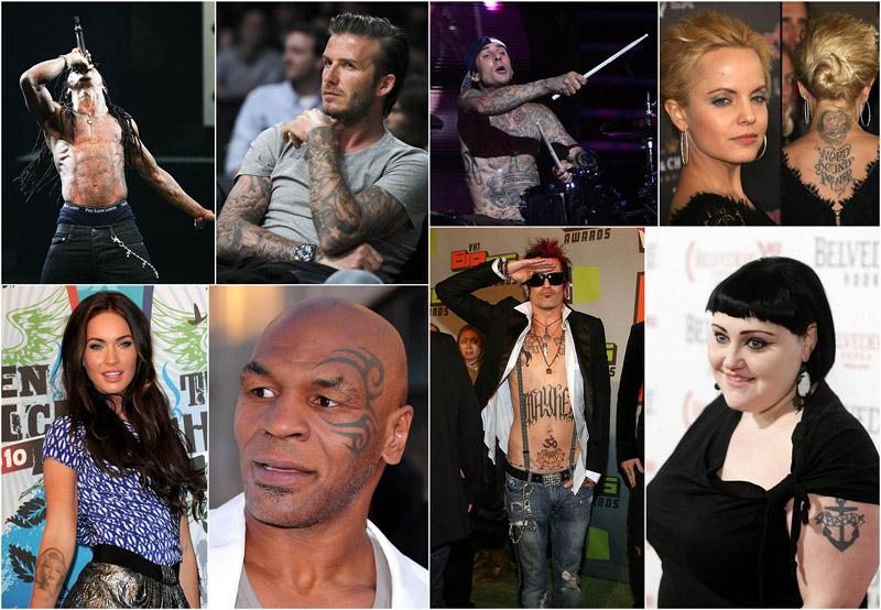 Звезды и их татуировки