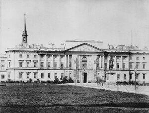 Вид на Михайловский Замок. 1910