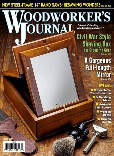 Книга Журнал: Woodworker's Journal №3 (июнь 2014) [En]