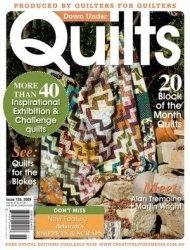 Журнал Down Under Quilts №136 September 2009