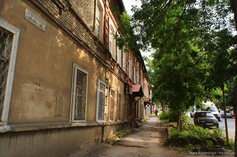 Дорога до музея, Саратов, 31 июля 2015 года