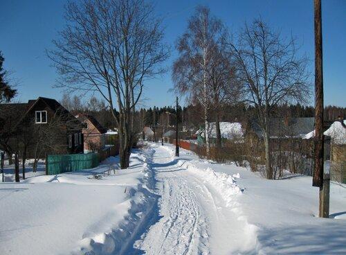 Деревня Голенищево