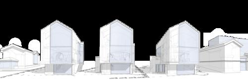 Проект жилого дома на 12 спальных мест с гостиной и просторной кухней столовой
