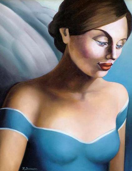 Голубые глаза Цвета чистого неба, Rachel Deacon