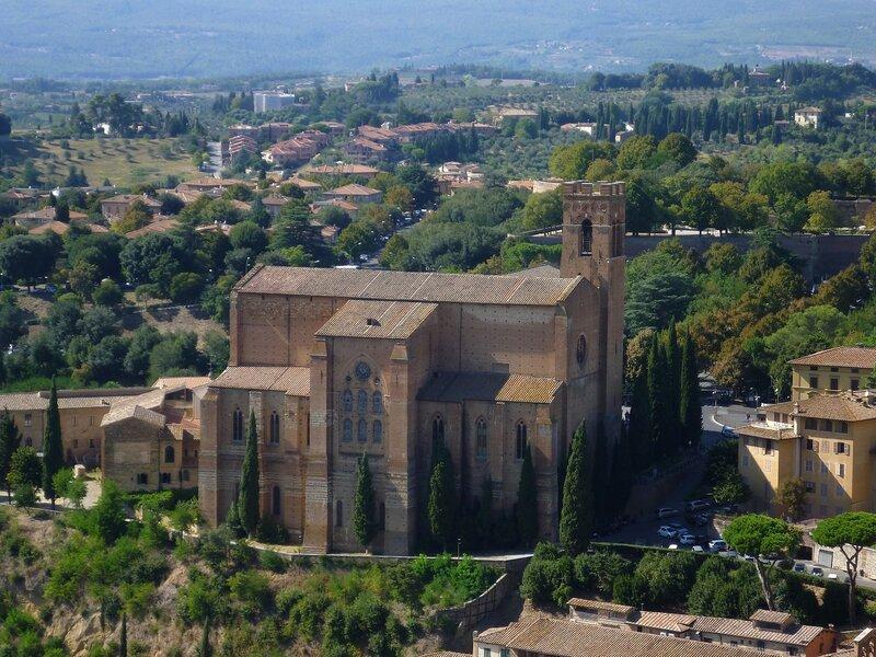 Италья, Сиена - Базилика Святого Франциска (Italy, Siena - Basilica of St. Francis)