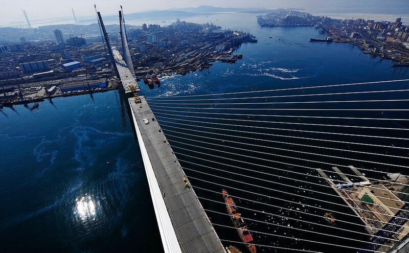 стороне моста завершилось