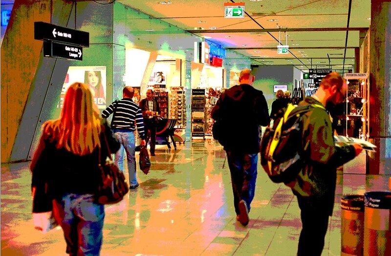 Копенганен, аэропорт.