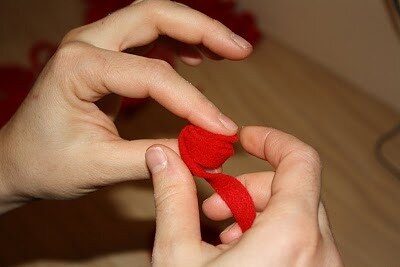 Ткань из роз своими руками