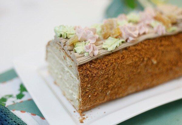 торт сказка в глазуре рецепт