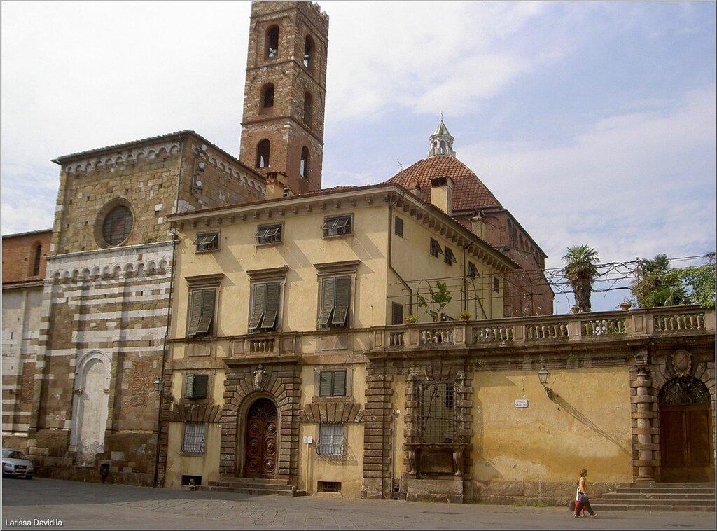 Лукка - старинный город Тосканы. Италия.