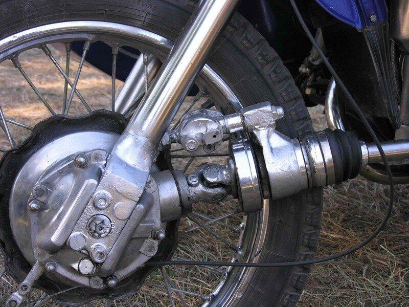 Переднее колесо для мотоцикла урал