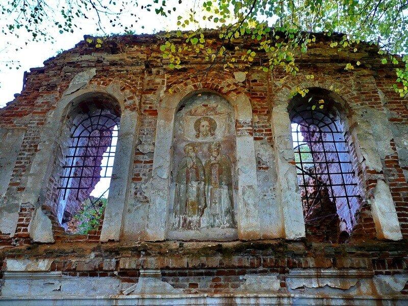 Роспись храма в Ильинском