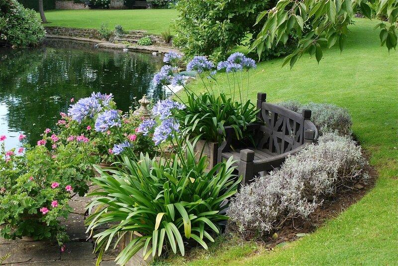 Сад. Англия