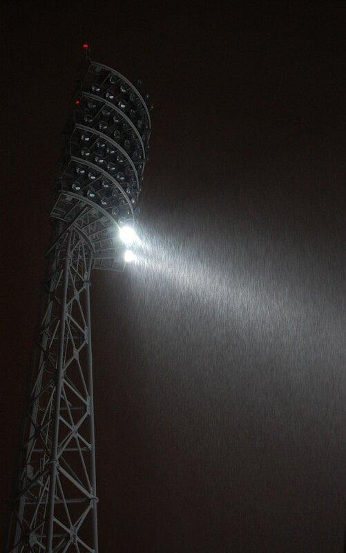 Фотографии Тулы Центральный стадион Прожекторная мачта.