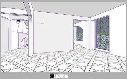 Коттедж Кухня-доготовочная коридор камин лестница на второй этаж 28 39