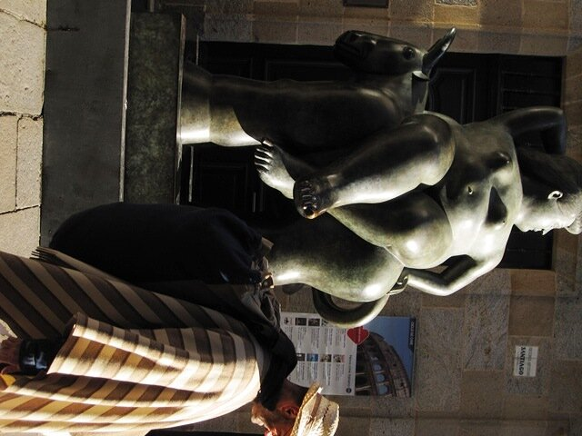 Скульптура в Сантьяго-Де-Компостела
