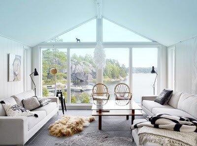 0 4520b c90a1a6c L Дизайн интерьера дома в шведском стиле