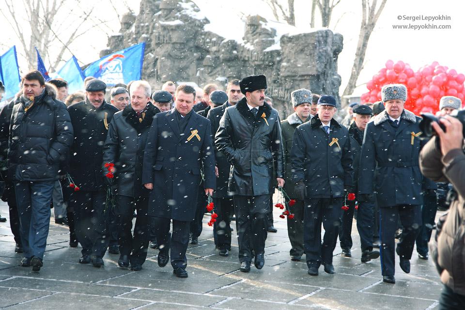68-я годовщина Победы Советской Армии в Сталинградской Битве