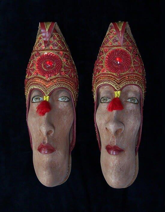 необычная обувь фото