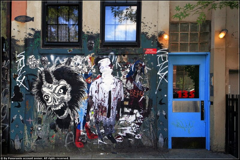 граффити в нью йорке