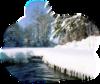 новогодний пейзаж69