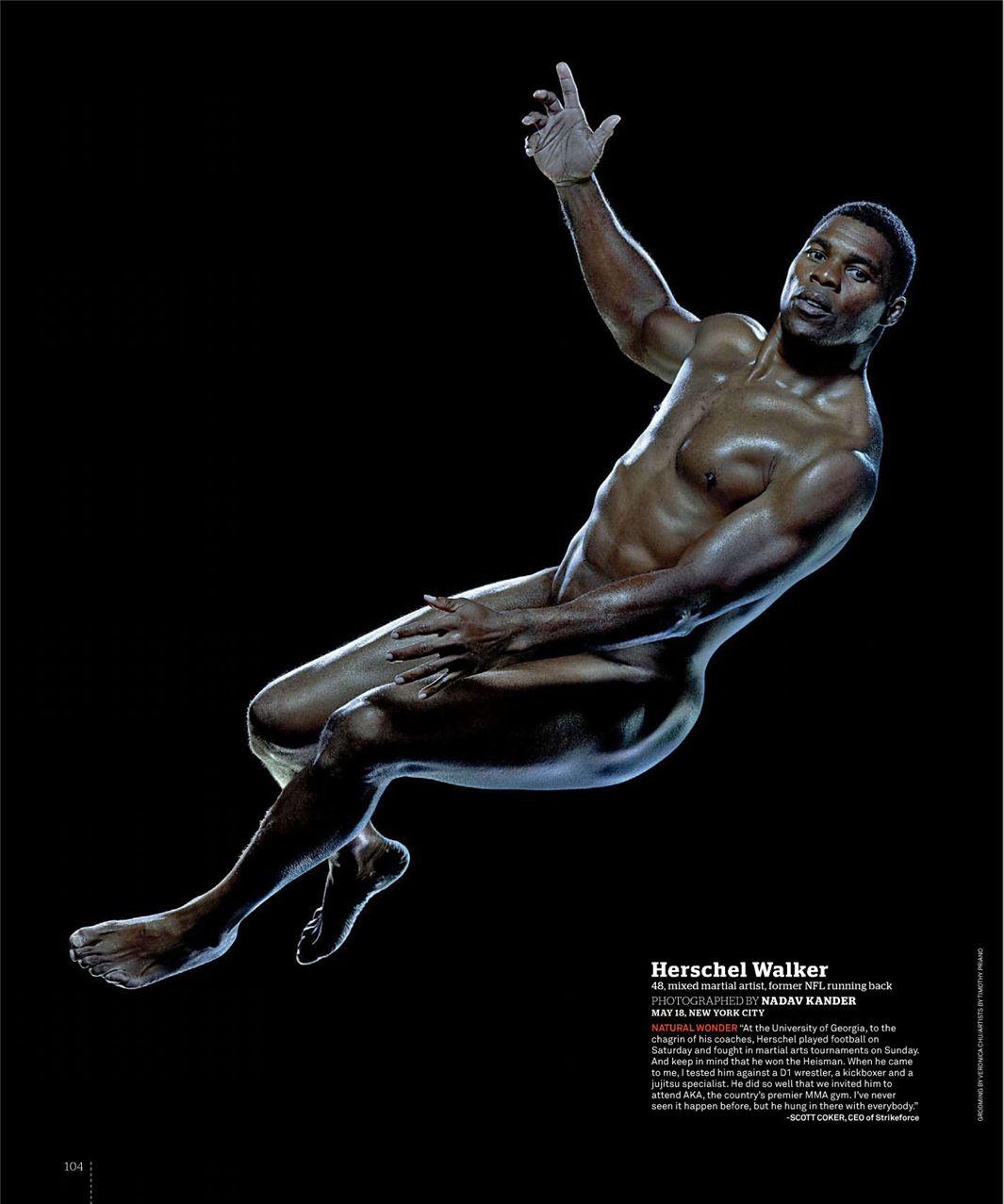 Хершел Уолкер / Herschel Walker - ESPN Magazine Body Issue 18 october 2010