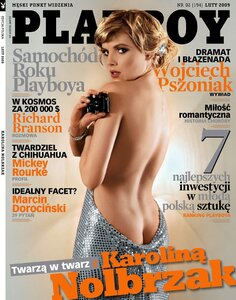 Karolyna Nolbrzak by Szymon Brodziak in Playboy Polska february 2009
