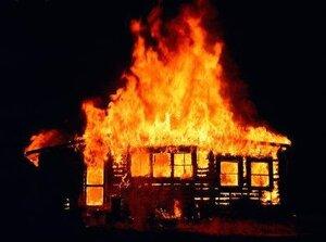 В Приморье при пожаре погиб мужчина