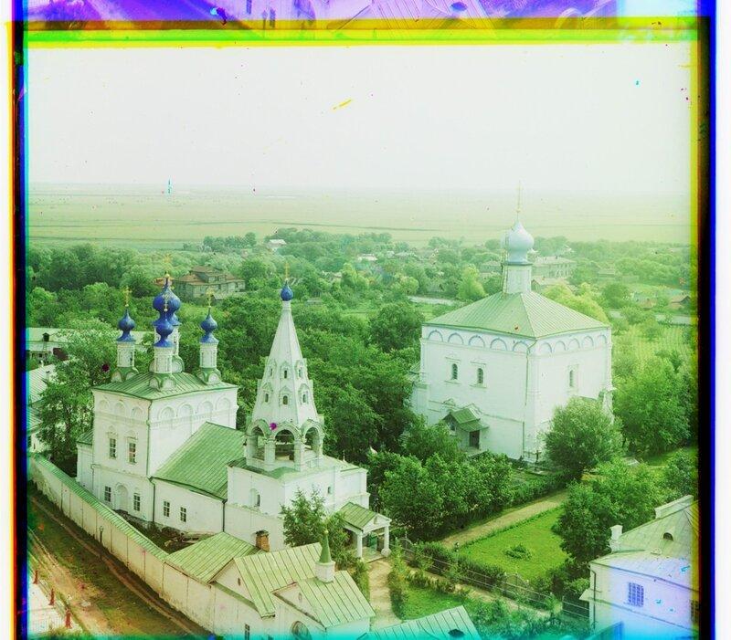 Спасский монастырь с северо-запада