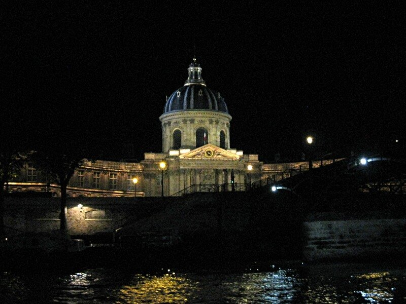 Ночной круиз по Сене