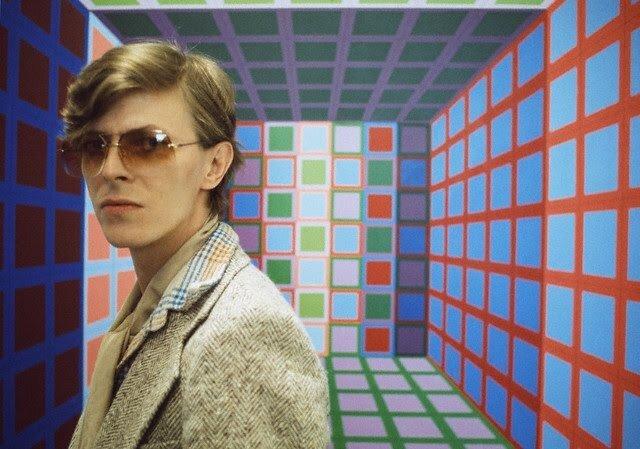 David Bowie in Vasarely's Workshop