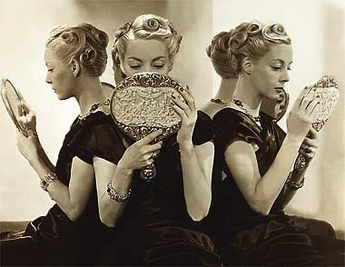 Old Hollywood Vanity - Cecil Beaton for Vogue 1937