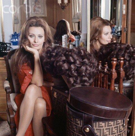 Sophia Loren by Henry Clarke 1972
