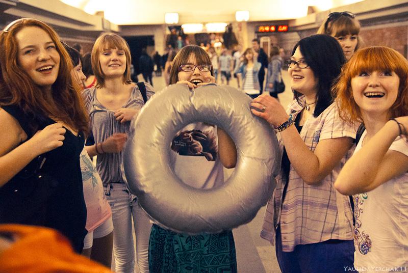 Summer Attack!, лето атакует, флэшмоб, flashmob, photo, фото
