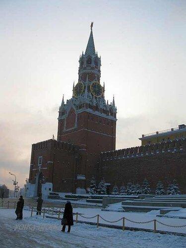 Красная Площадь 31 декабря 2010