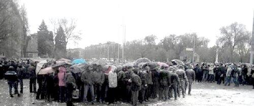 Запорожье. Апрель 2014 года.