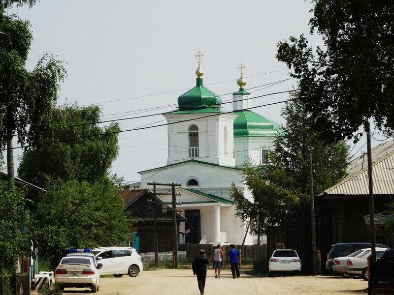 Телерепортация в прошлый век. Село Баргузин, Бурятия.