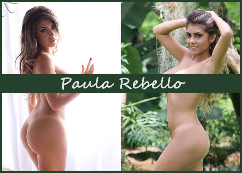 Бразильская модель Paula Rebello
